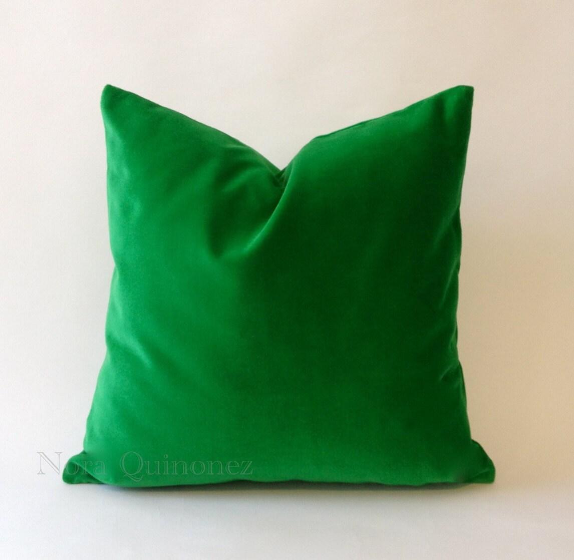green velvet pillow. 🔎zoom Green Velvet Pillow N