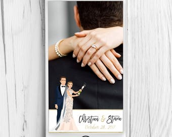 New Years Eve Wedding Snapchat Geotag Filter - NYE Snapchat Filter - New Years Wedding Snapchat Filter - Custom Wedding Snapchat Filter