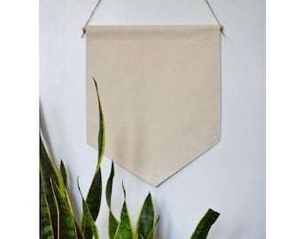Handmade Medium CUSTOM Wall Banner - Medium Custom Hanging Wall Banner - Custom Hanging Wall Pendant