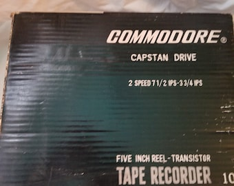 1960s Commodore tape recorder