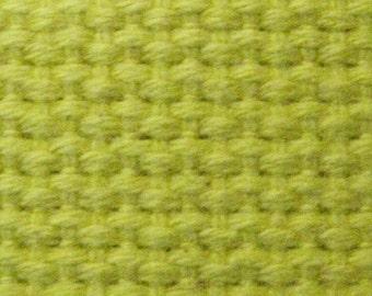 Sun Yellow HEAVYWEIGHT COTTON WEBBING For Key Fobs Handbags Belts