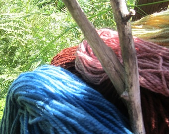 Summer Cool in Indigo Blue Yarn