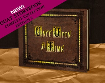Henry's Once Upon A Time Storybook (inspired)- The Complete Collection - EDITION 2 - Full size - Made To Order