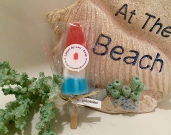 Bring back childhood memories with my soap pop - perfect for 4th of July or a party favor.