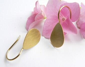 Earrings Silver Gold, drops