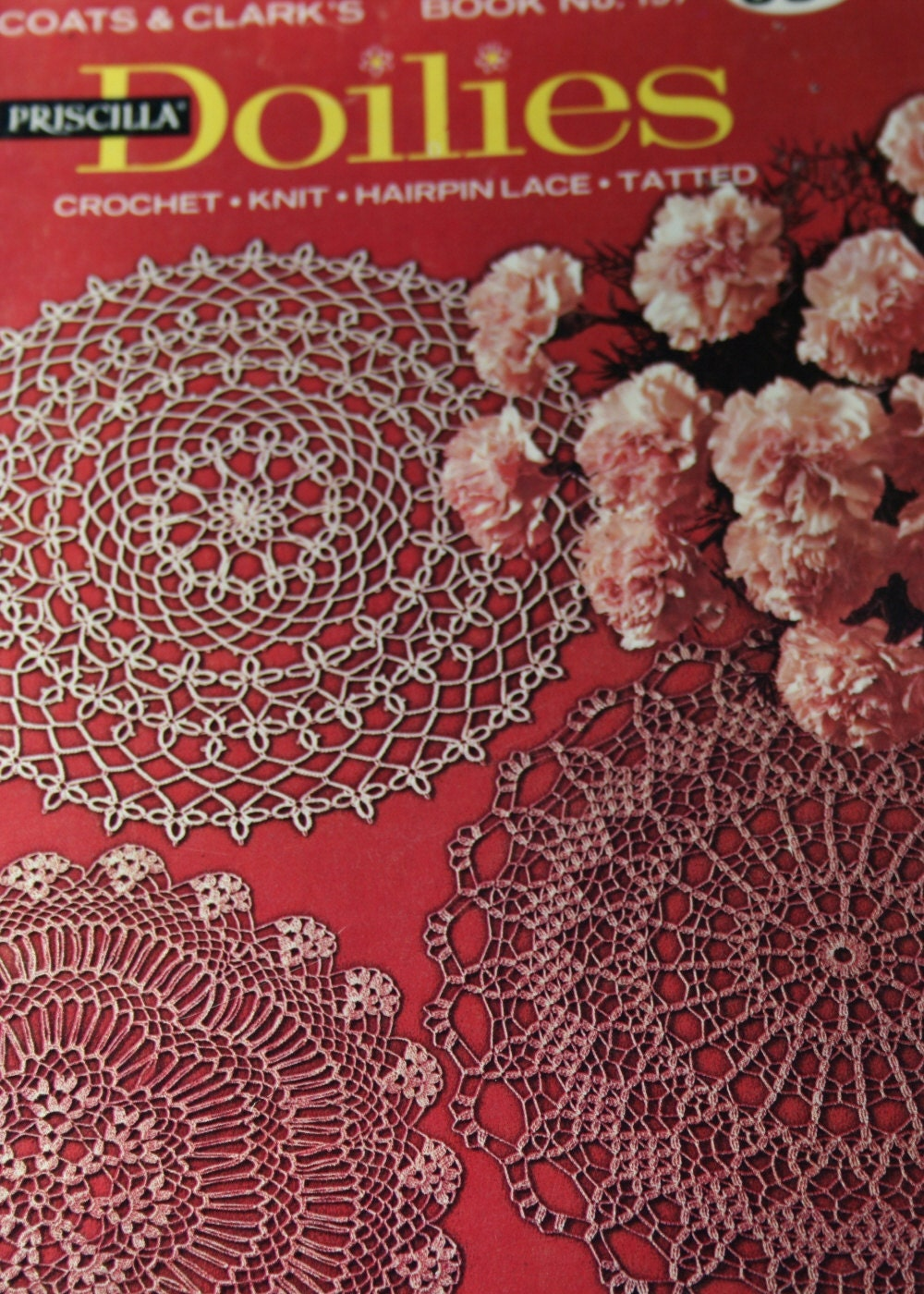 Doilies Patterns Crochet Knit Hairpin Lace Tatted Coats and Clark\'s ...