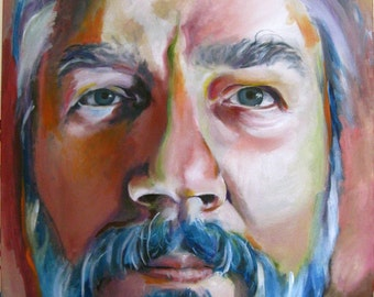 Large Oil Painting  Custom  Portrait