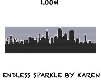 San Francisco Skyline Loom Tapestry