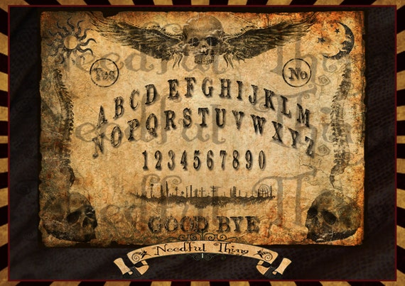 picture relating to Printable Ouija Boards named Ouija Board Sport Printable - 0425