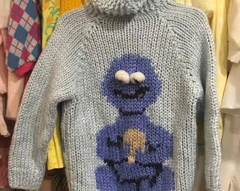Cookie Monster Cardigan Kids 4/5