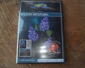 Wilson Bickford Floral painting dvd art supplies wet on wet painting