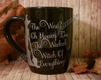 12 ounce Halloween coffee mug