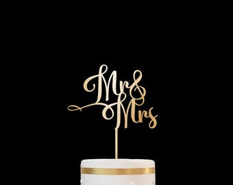 Mr and Mrs Wedding Cake Topper Customized Wedding Cake Topper, Personalized Cake Topper for Wedding,Custom Personalized Wedding Cake Topper9