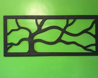 Tree wall art