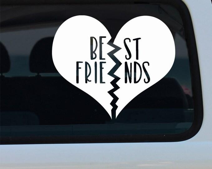 Best Friends Vinyl Decal