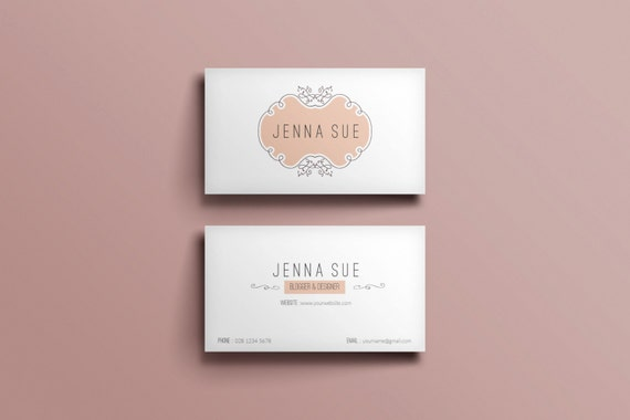 Elegant business card template business card designcustom colourmoves