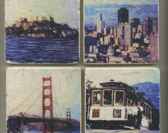 San Francisco Series - Original Coasters