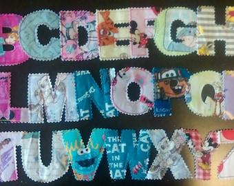 Character magnet letter set