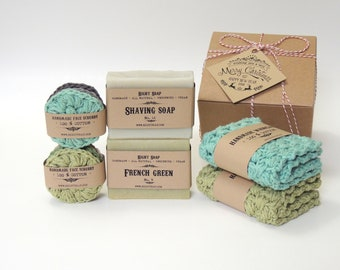 Fathers Day Gift For Dad Gifts For Him Father Gift From Daughter Mens Gift For Husband Birthday Gift Box Soap Set Natural Skin Care Vegan