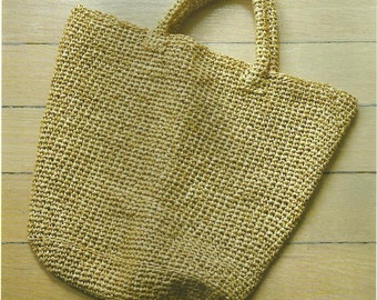 Summer Tote Crochet Bag PDF Crochet Pattern Instant Download