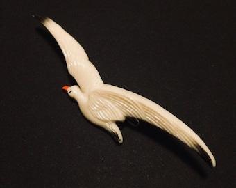 Vintage Seagull Brooch - 1950s