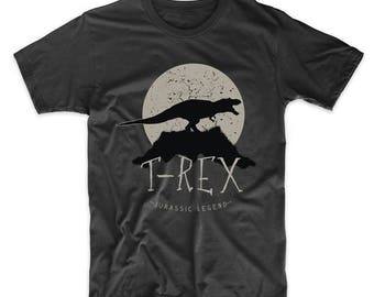 T-Rex Jurassic Legend Dinosaur T-Shirt