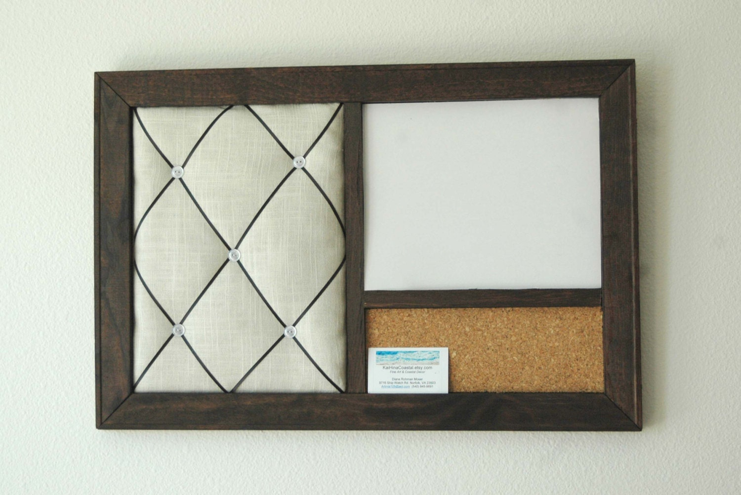 Corkboard magnetic whiteboard dry erase board french memo for How to make a bulletin board without cork
