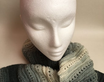 Bella - a sophisticated colour change scarf knitting kit