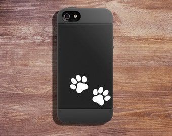 Dog & Cat Paw Prints - Vinyl Decal Minis -  Window Decal - Laptop Decal - Personalize Your Things With Minis - Vinyl Sticker