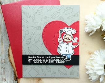 Handmade Valentines Card, Valentines Day Cards, Anniversary Cards, Love Cards, Birthday Card, For Husband, Wife, Girlfriend, Boyfriend, Love