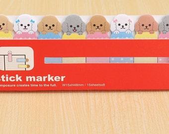 Pomeranian Sticky Notes / Cute Stationary / Dog Stationery / Small Gifts / Cute Sticky Notes / Cute Gifts / Cute Dogs / Kawaii Stationary