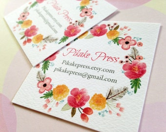 Custom Business Card, Business Cards, Calling Cards, Set of 48