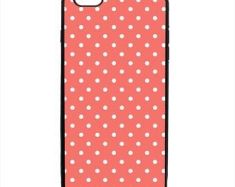 Polka Dot Print Pattern Phone Case Samsung Galaxy S5 S6 S7 S8 S9 Note Edge iPhone 4 4S 5 5S 5C 6 6S 7 7S 8 8S X SE Plus