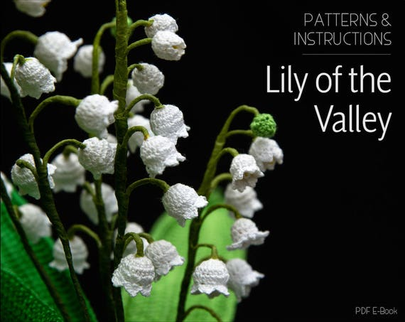 Crochet Pattern For Lily Of The Valley Crochet Flower
