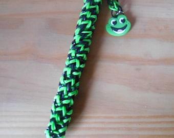 Rainbow loom Green Frog pen