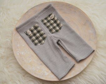 Newborn Photo Props, Newborn Pants Prop, Baby Boy Pants, Newborn Boy Pants, Newborn Props, Newborn Boy Outfit, Gray Props, Photography Props