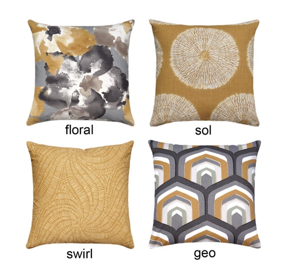 Grey And Gold Pillow Charcoal Grey Throw Pillow Gold Floral