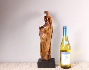Wood Sculpture, Forest Sculpture , Driftwood Sculpture : Forest Breeze 18018