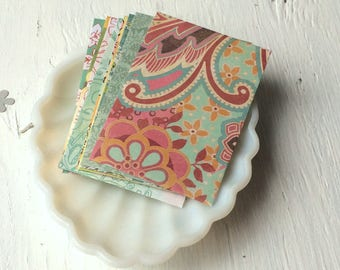 Patterned Gift Card Envelopes - coin envelopes - mini envelopes pack of 10