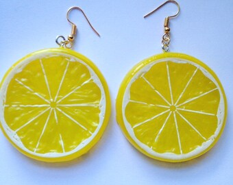 Lemon/Lime/Orange Slice Earrings