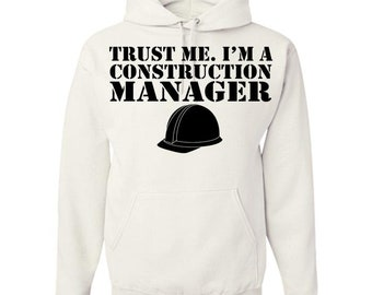 Construction Manager Adult Hoodie