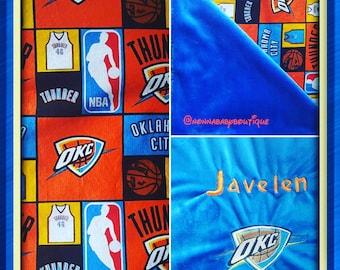 OKC NBA Blanket