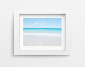 Bay of Fires Australia Ocean Print, Digital Download Large Wall Art Prints, Beach Decor Nautical Decor, Ocean Photography Seascape Printable
