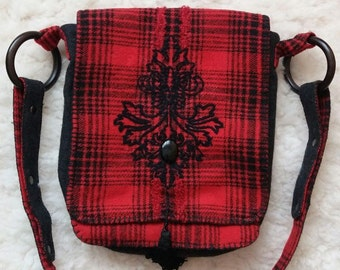 Storyteller Red Shoulder Bag