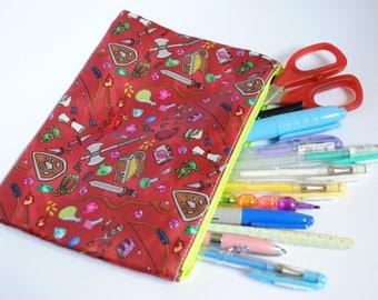 Dungeon Crawler Pencil/Cosmetic Bag