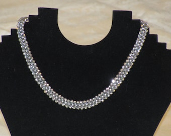 Pearls & Diamonds Necklace - without pearls and diamonds!