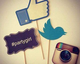 Social Media Photo Props