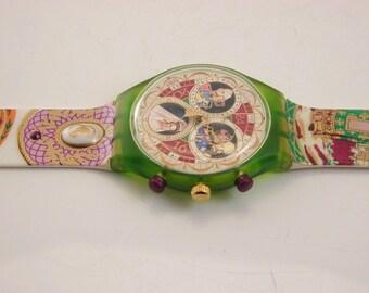 "The ""Russian Treasury"" swatch watch 1996"