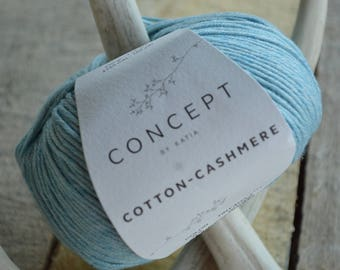 Concept Cotton Cashmere Turquoise Yarn