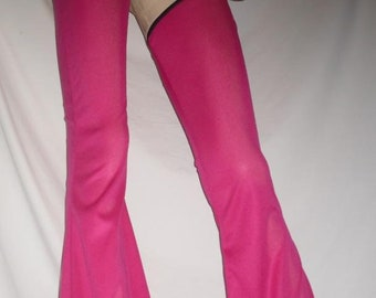 XTINA inspired Chaps -- Sexy Flare Leg CHAPS Harley Quinn Fantasy Costume Buttless Pants Coplay Black/Red Chaps 2zgIYMU